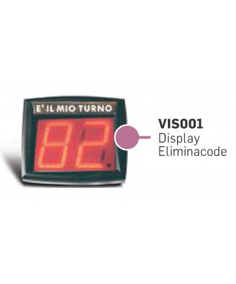 DISPLAY NUMERATORE A DUE...