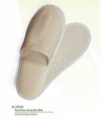 Pantofola CHIUSA in tessuto...